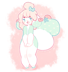 [p]: soft and squishy (outdated sona) by blushbun