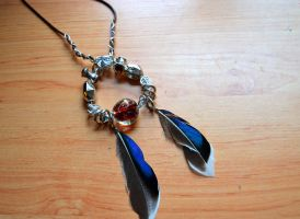 Dreamcatcher Necklace by MissVulture93