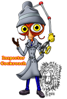 Inspector Cockroach by TheBig-ChillQueen