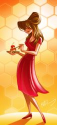 Chuck from Pushing Daisies by FreakyPicasso