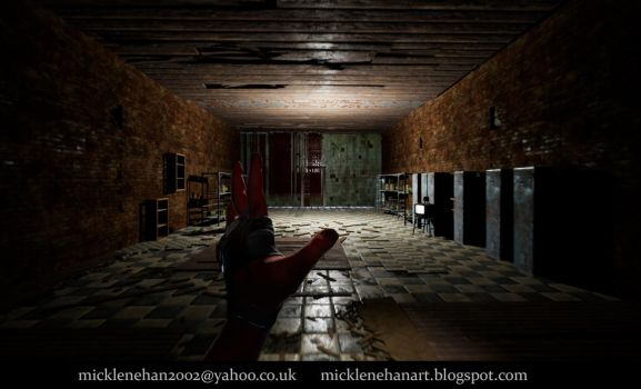 UE4 Horror Level by Mick2006