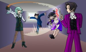 Phoenix Wright: When to... by androidgirl