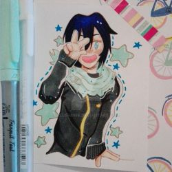 Yato from Noragami by Blue48598