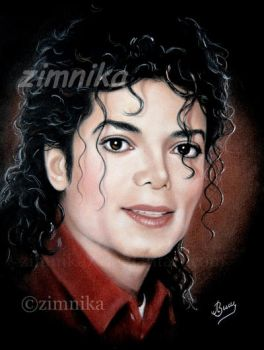 Portrait MJ by zimnika7