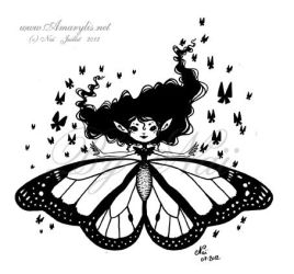 Butterfly Fairy 01 by Nailyce