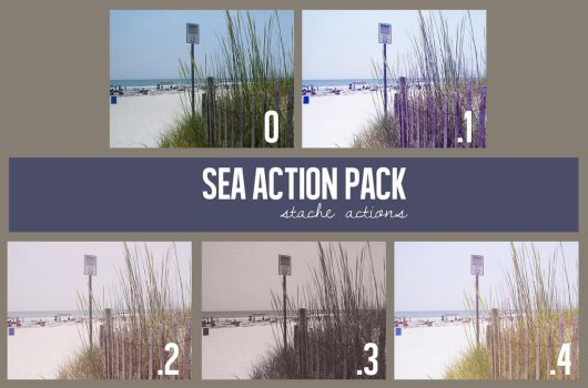 Sea Action Pack by StacheActions