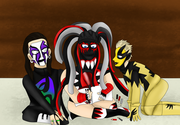 Finn Jeff Goldust Dessin by teamspike1