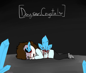 Goretober Day One: Crystal by ThebestKatoheartpets