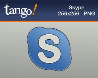 Skype Icon at tango style by martinzsj