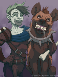 Carse and Stink by kyoht