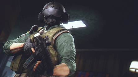Jager (Rainbow Six Siege) by AngryRabbitGmoD
