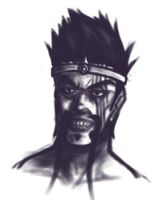 Really tiny Draven Sketch by Furin94