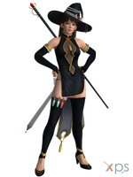 DOA5 Leifang Costume 56 Halloween 2016 by rolance