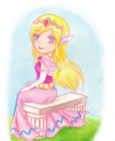 Hyrule's Little Princess by ColeyCannoli
