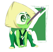 Peridot The Frog by TheKuween