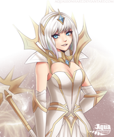 [League of Legends:] Elementalist Lux by AquaLeonhart