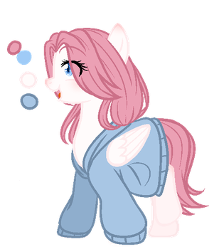 Some cute thing - {Custom Commission} by NykaWolfs