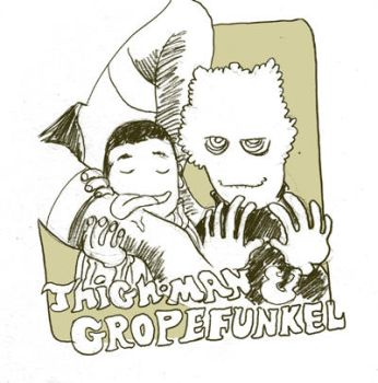 ThighMan and Gropefunkel by royalboiler