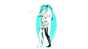 MMD DT Racing Miku 2012 Finished by willianbrasil