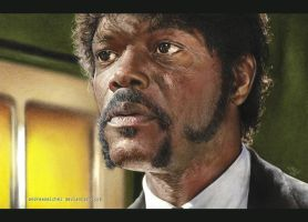 Samuel L. Jackson by andreasmichel