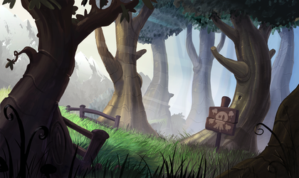 Layout - Forest Color Key by AlexanderHenderson