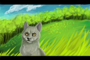 Greystripe by Happy--Cat