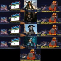 Mack At The Drive-in Theater (Johnny Depp) by FoxPrinceAgain