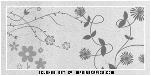 flowers brushes2 by Magiagrafica