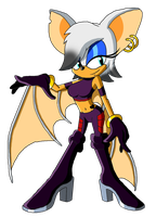 Sonic Reeboot (2016) - Rouge the Bat by Moheart7