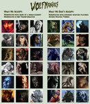 Wolfmaniacs guidelines by Viergacht