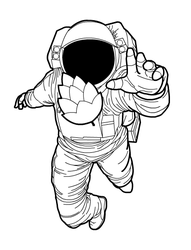 Astronaut by nkunited
