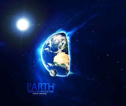 Earth Travels In Space And Time by SolidGx