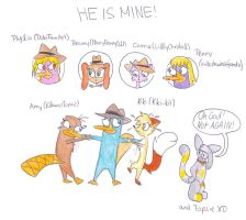 HE IS MINE by EleanorTopsie