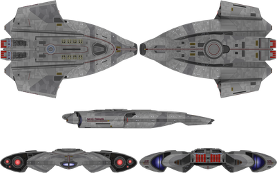 Andromeda Fleet Part 6:  USS Monitor NCC-79825 by anno78