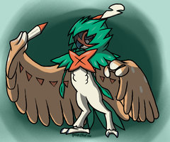 Decidueye by cotton-bird