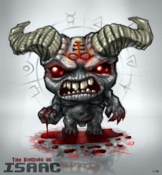 Binding of Isaac: BrimStone by GrizzlySword