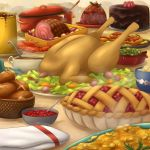 In Food We Give Thanks by FloatySkye