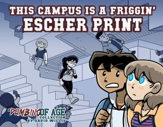 Dumbing of Age Book 1 cover by itswalky