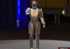 Cyberman:The Controller- Doomsday Project by Shango-ThunderStones
