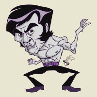 Sonny Chiba The Street Fighter by RToledoMrSnOw