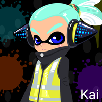 Agent 3 (Kai) [KaiFreshSquidPower] by Brightsworth-Heroes