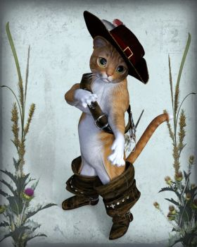 Puss in boots by mininessie66