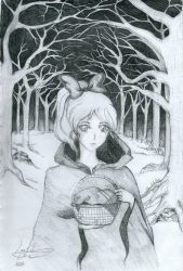 RED RIDING HOOD by lolo-the-snow