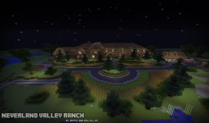 Minecraft Project - Neverland Valley Ranch by McTaylis