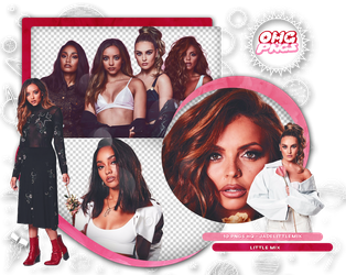 PACK PNG 159 // Little Mix by OMG-PNGS