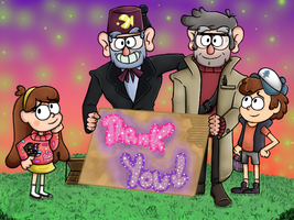 Thank You Gravity Falls ! by AnaYYY-fan