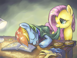 Long Day by FlutterDashWhore