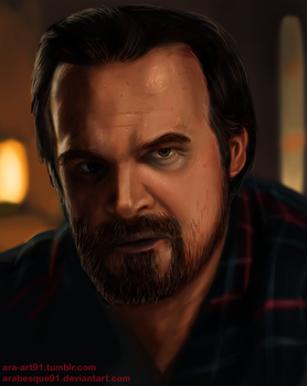 Stranger Things - Hopper (Edit) by Arabesque91