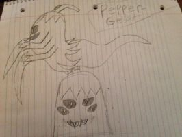 UPDF! Plant Boss (The Pepper-Geist) by StantheSpider