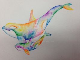 Watercolor tattoo concept by mariana-a